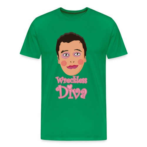 Wreckless Diva - Men's Premium T-Shirt