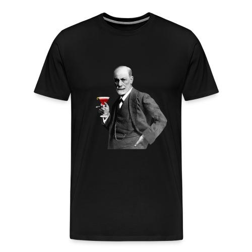 Freundlicher Sigmund Freud T-Shirt (farbe) - Männer Premium T-Shirt