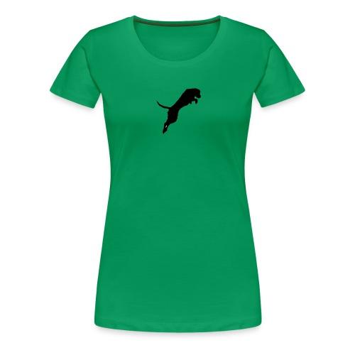 Vesipeto-girliepaita naisille, Panda - Naisten premium t-paita