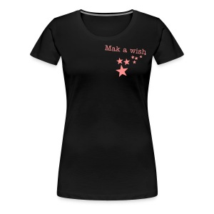 Make a wish - Stars - Frauen Premium T-Shirt