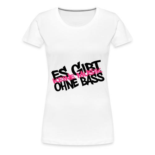 offizielles Dorfparade_girlieshirt weiß - Frauen Premium T-Shirt