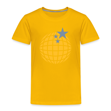 Disco-Kugel / disco globe (2c) Kids' Shirts