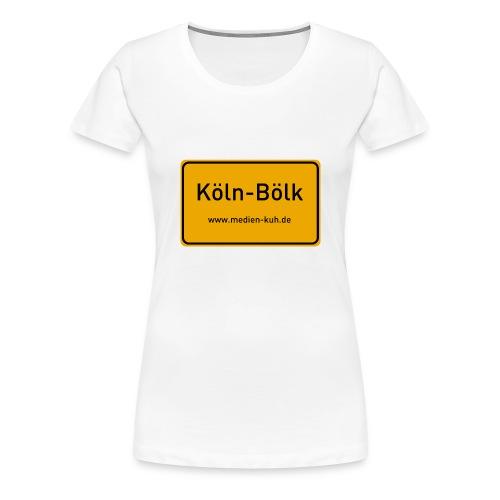 Köln-Bölk Girlie - Frauen Premium T-Shirt
