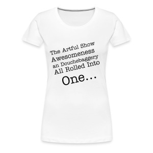 The Artful Show, Women's. - Women's Premium T-Shirt