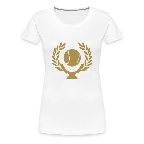 Golden Goal - Frauen Premium T-Shirt