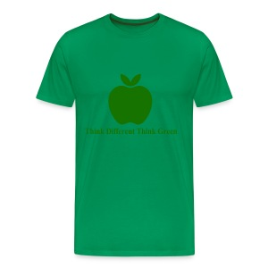 Think different think green - T-shirt Premium Homme