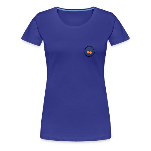 T-shirt Femme - Lorraine Pays de la Mirabelle - T-shirt Premium Femme