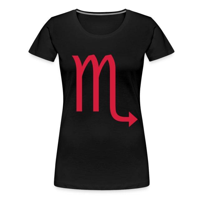 t shirt donna Scorpione