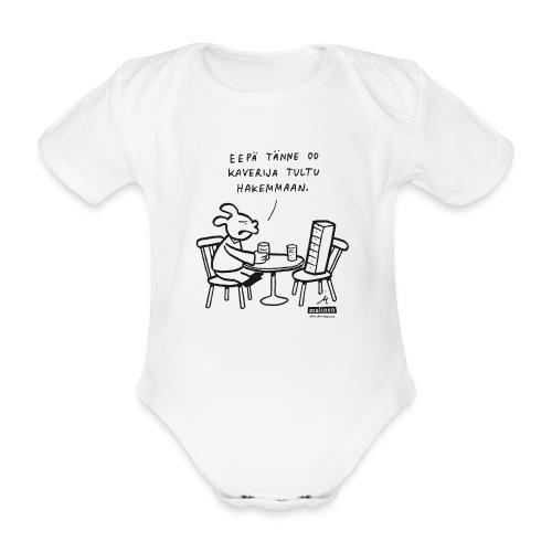 Malinen - Kaveribody - Vauvan lyhythihainen luomu-body