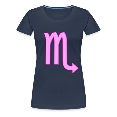 t shirt donna Scorpione - Maglietta Premium da donna