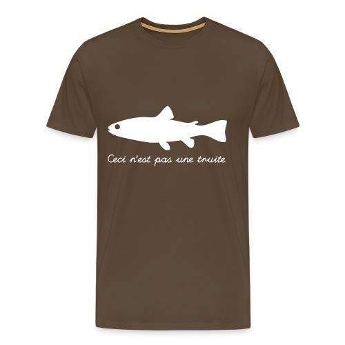Questa non è una trota T-Shirt - Maglietta Premium da uomo