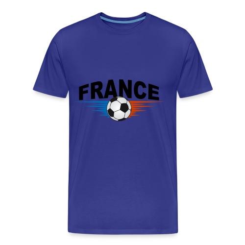 tee shirt supporter france design - Men's Premium T-Shirt