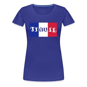 Supportrice tricolore bleu blanc rouge - T-shirt Premium Femme