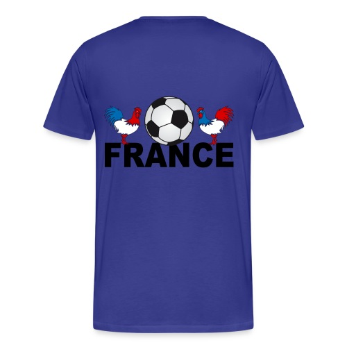 tee shirt supporter france design - Men's Premium T-Shirt