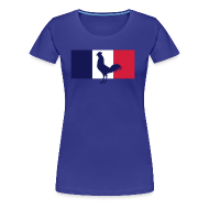 Tee shirts ~ T-shirt Premium Femme ~ tshirt supportrice France