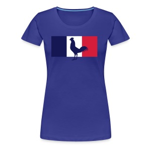 tshirt supportrice France - T-shirt Premium Femme