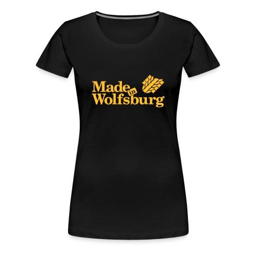 Made in Wolfsburg - Frauen Premium T-Shirt