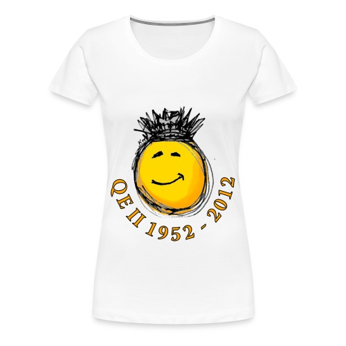 QE II Jubilee smiley T-Shirt - Women's Premium T-Shirt