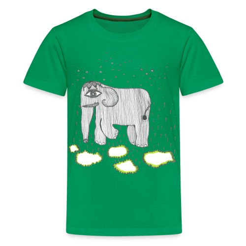 Elephant - Teenage Premium T-Shirt