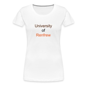University of Renfrew - Women's Premium T-Shirt