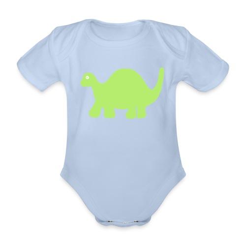 Dino-Body - Baby Bio-Kurzarm-Body