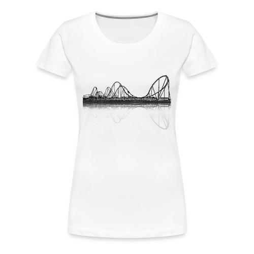 Silverstar Black Coaster-Shirt Girlie - Frauen Premium T-Shirt