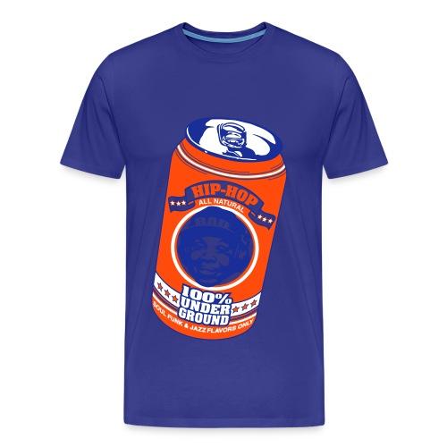 Hip-hop underground flavors orange - T-shirt Premium Homme