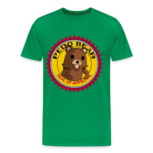 Pedo Bear Seal Of Approval T-Shirt - Men's Premium T-Shirt