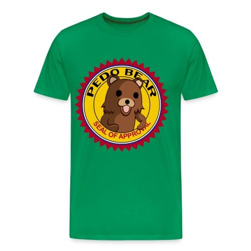 Pedo Bear Seal Of Approval T-Shirt - Men's Premium T-Shirt