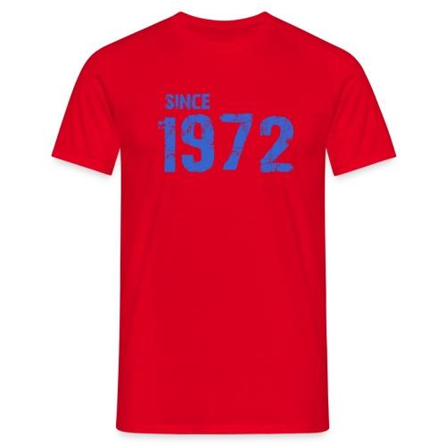 Since 1972 - Mannen T-shirt
