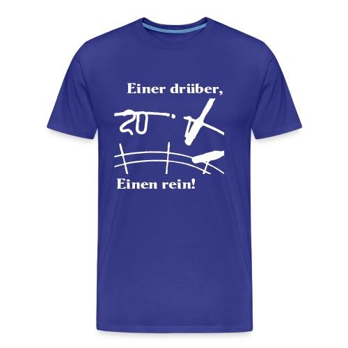 Home Anleitung - Herren Flockdruck beidseitig - Männer Premium T-Shirt