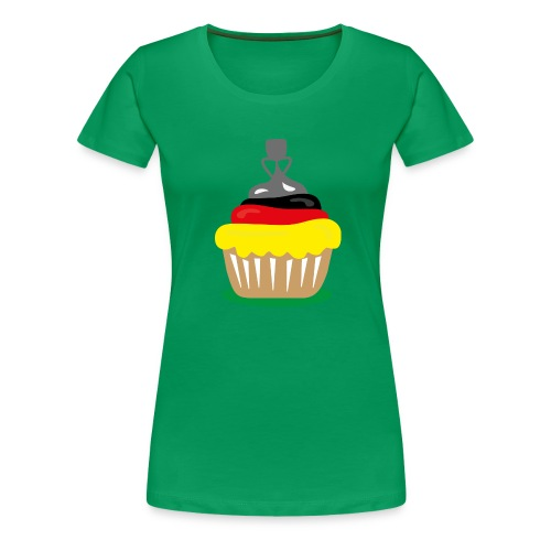 Championscupcake - Frauen Premium T-Shirt