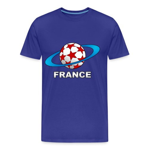 t-shirt supporter football france - Men's Premium T-Shirt