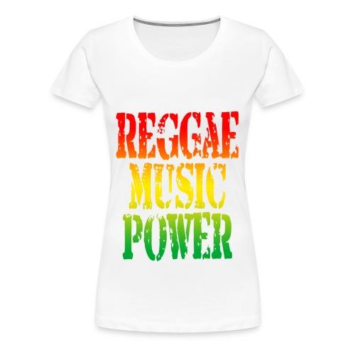 Reggae - Vrouwen Premium T-shirt