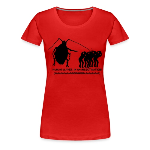 INSECT NATION Girlie Tee - Women's Premium T-Shirt