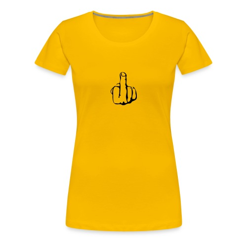 fuckoff - Frauen Premium T-Shirt