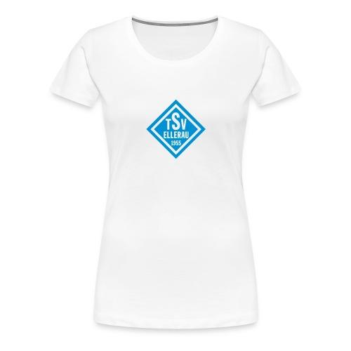 Raute vorn - Frauen Premium T-Shirt