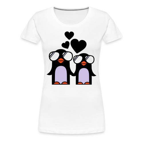 Pinguin - Frauen Premium T-Shirt