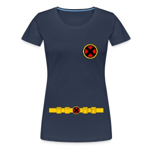 X-Men Classic Uniform - LADIES - Women's Premium T-Shirt