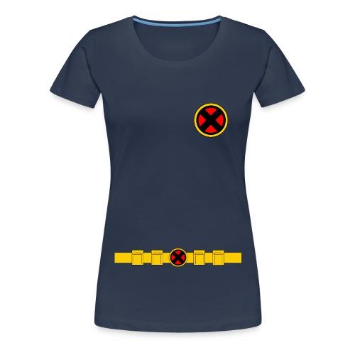 X-Men Classic Uniform - LADIES - Women's Premium T-Shirt