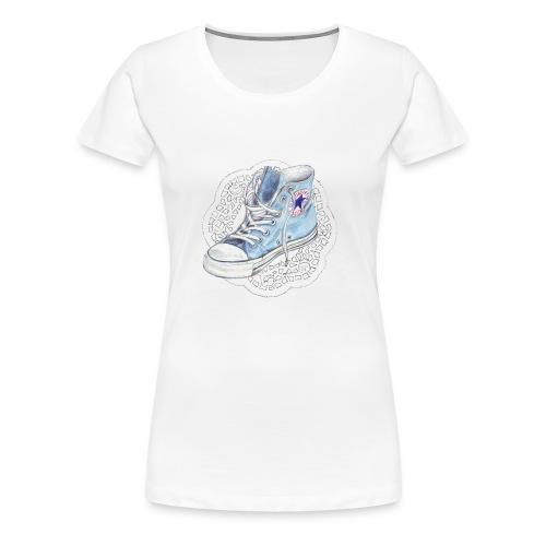 chuck weiss - Frauen Premium T-Shirt