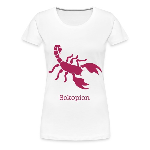 Skorpion - Frauen Premium T-Shirt