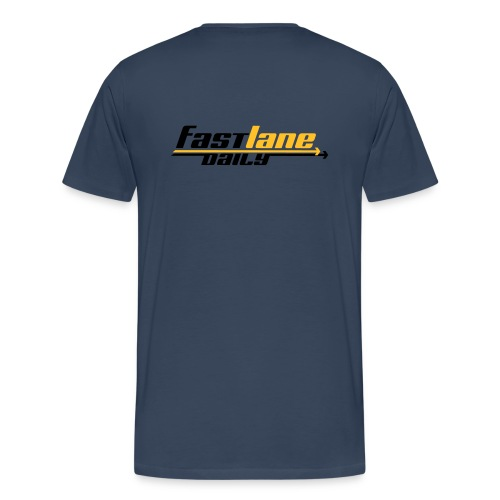 Fast Lane Daily logo T-Shirt by Continental Clothing - Men's Premium T-Shirt