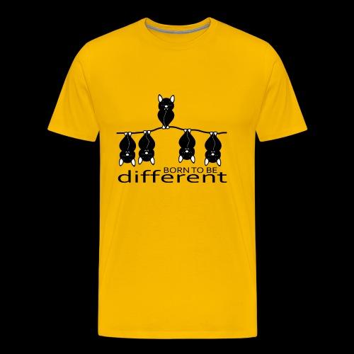 Born to be different - Maglietta Premium da uomo