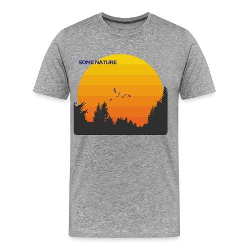 Some Nature - Männer Premium T-Shirt