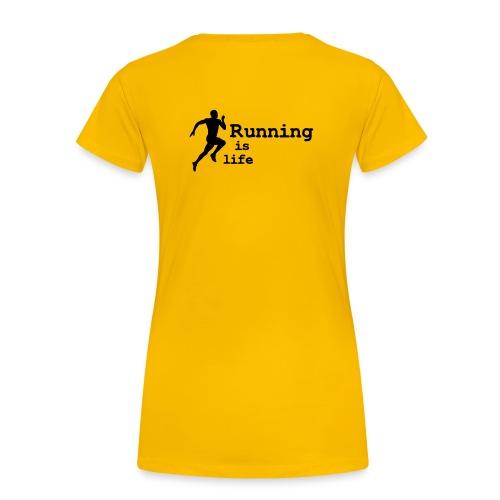 Naisten premium t-paita - Running vaatteet, running clothes, urheiluvaatteita, urheiluvarusteet, Running, juoksutarvikkeet, juoksuvaatteita