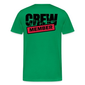 live a ride - Mannen Premium T-shirt