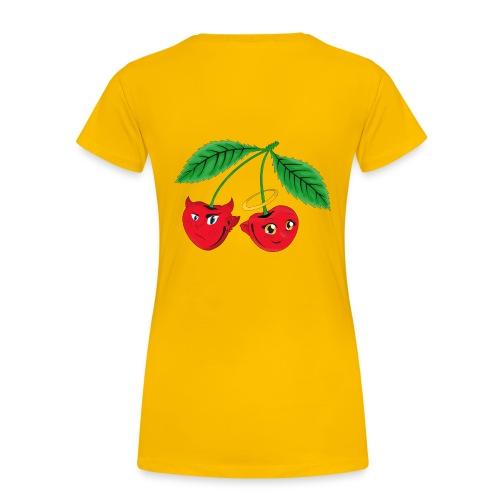 Kirschen - Frauen Premium T-Shirt