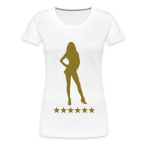 sexy girl - Vrouwen Premium T-shirt