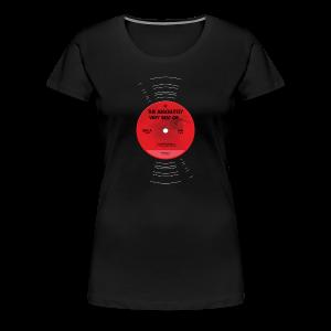 Plaat (girlieshirt) - Vrouwen Premium T-shirt